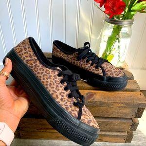 Xhilaration Cheetah Print Platform Sneakers